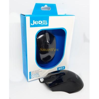 Мышь проводная игровая JEDEL M51