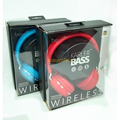 Наушники беспроводные Bluetooth BOYI 70 +эквалайзер