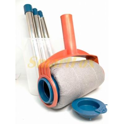 Валик универсальный тканевый для покраски с емкостью 275мл