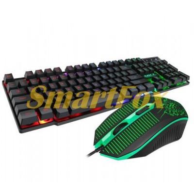 Клавиатура + мышь проводные iMICE KM-680