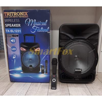 Портативная колонка Bluetooth в виде чемодана TRITRONIX TX-SL1231