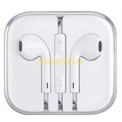 Наушники вакуумные с микрофоном EarPod