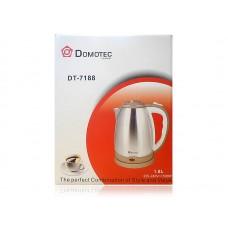Электрочайник Domotec 7188 с покрытием из нержавеющей стали 1500Вт (1,8 л)