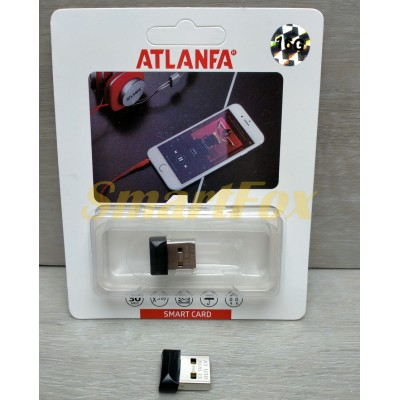 Флеш память USB 2.0 16Gb ATLANFA AT-U10 в виде адаптера (1,7см)