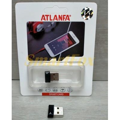 Флеш память USB 2.0 16Gb ATLANFA AT-U10 в виде адаптера (1,7см)