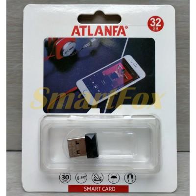 Флеш память USB 2.0 32Gb ATLANFA AT-U10 в виде адаптера (1,7см)