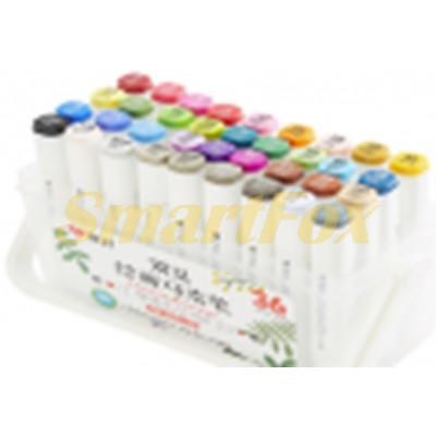 Маркер для скетчинга профессиональный SKETCH MARKER набор 36 цветов (цена за 1 шт, продажа только уп