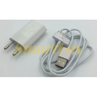 СЗУ USB для IPHONE 3/4 (1000mah)