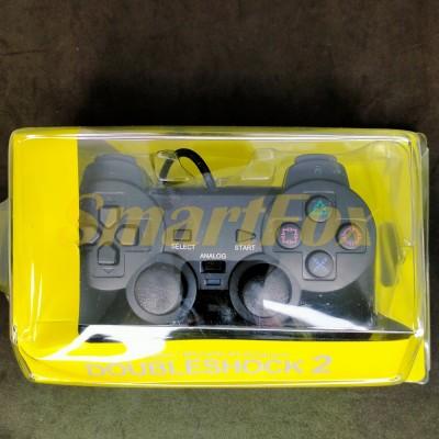 Игровой манипулятор (джойстик) PS2 проводной в блистере (AC)