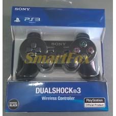 Игровой манипулятор (джойстик) PS3 беспроводной SIXAXIS Черный