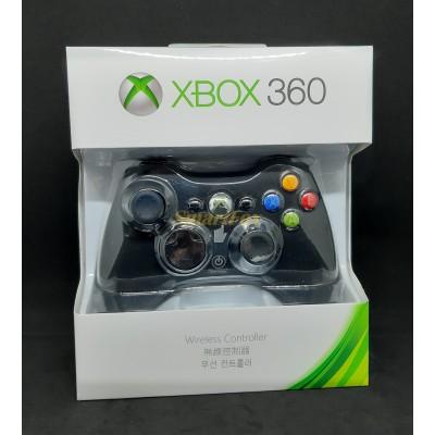 Игровой манипулятор (джойстик) X-BOX 360 беспроводной джойстик ЧЕРНЫЙ