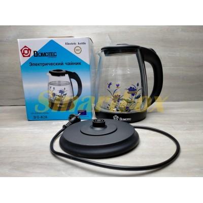Электрочайник стеклянный Domotec DT-820 1,8л 2000Вт