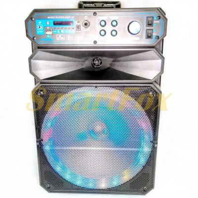 Портативная колонка Bluetooth в виде чемодана KIMISO QS-1208 (12`BASS)