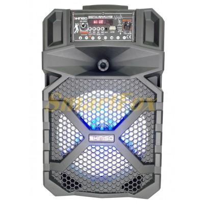 Портативная колонка Bluetooth в виде чемодана KIMISO QS-2808 (8`BASS)