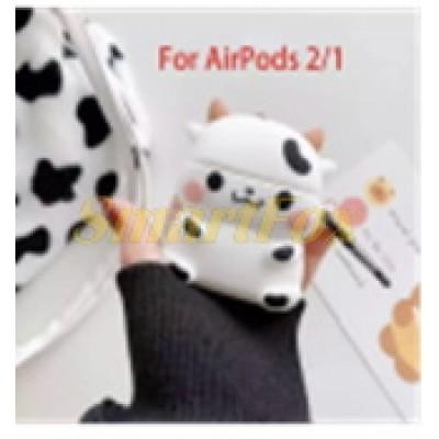 Чехол 3D для AirPods Pro 2 1, защитный силиконовый чехол с милыми животными