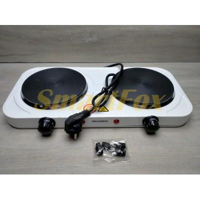 Электроплита WB4047 двухконфорочная дисковая 2500Вт