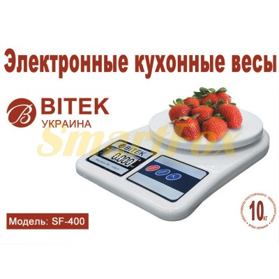 Весы бытовые кухонные BITEK YZ-1905-SF-400