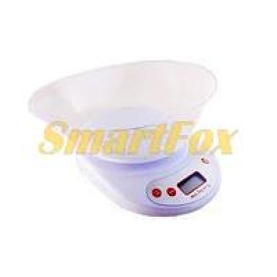 Весы бытовые кухонные с овальной чашей YZ-1811A-EK-02