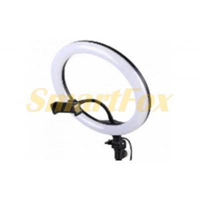 Лампа LED кольцевая А390 39 см + штатив и пульт