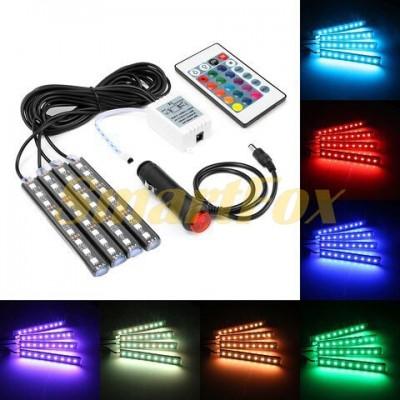 Подсветка салона светодиодная RGB 36 LED
