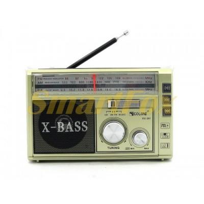 Радиоприемник с USB GOLON RX-381 BT + Bluetooth