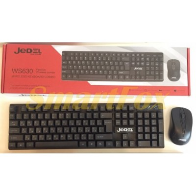 Клавиатура + мышь беспроводные JEDEL WS630