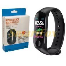 Часы фитнес браслет MI Band 3 M3  v2 (зарядка Micro USB)