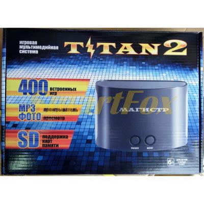 Игровая приставка 8-bit + 16-bit SD CARD TITAN 2 (400 встроенных игр)
