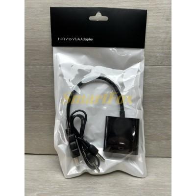 Конвертер HDMI/VGA+AUDIO (3,5)