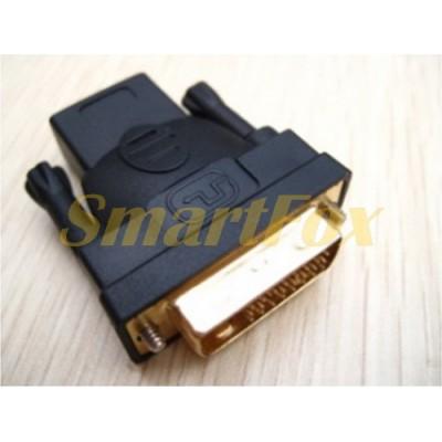 Переходник DL-1343 HDMI F/DVI 24+1 M
