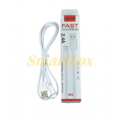 Кабель USB/Lightning ASPOR A106