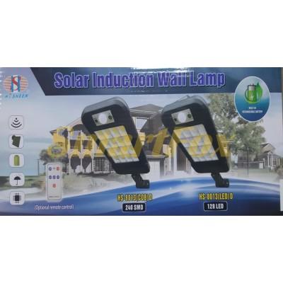 Светильник уличный BL-HS-8013D-16COB Solar с датчиком движения на солнечной батарее SLR