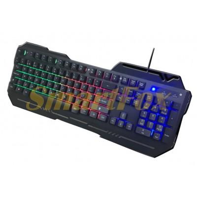 Клавиатура проводная профессиональная игровая с подсветкой WB-539