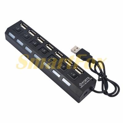 Хаб USB на 7 портов + switch