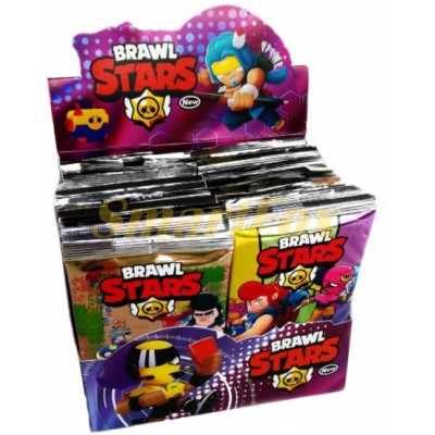 Карточки с героями Brawl Stars упаковка 36шт (цена за 1 шт, продажа только упаковкой)