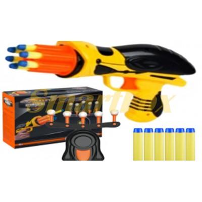 Воздушный тир (пистолет с дротиками и летающими мишенями) FLOATING TARGET GAME 3334B