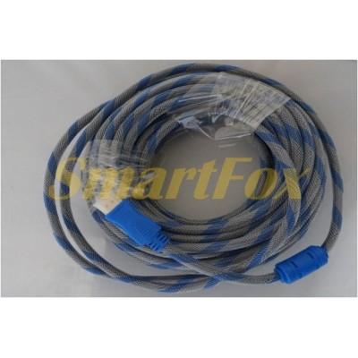 Кабель видео HDMI/HDMI 1.4V круглый (15 м)