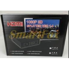 Коммутатор HDMI HM2 1х4 104