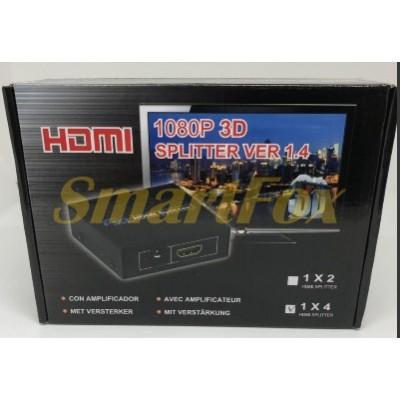 Коммутатор HDMI HM2 1х4 Splitter 4K2K
