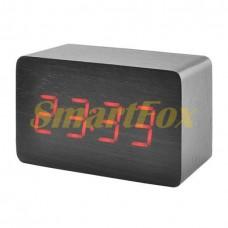 Часы настольные 1295 с красной подсветкой
