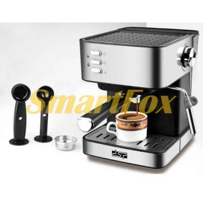 Кофемашина полуавтоматическая DSP KA3028 Espresso Coffee Maker с капучинатором 1,6л 850Bт