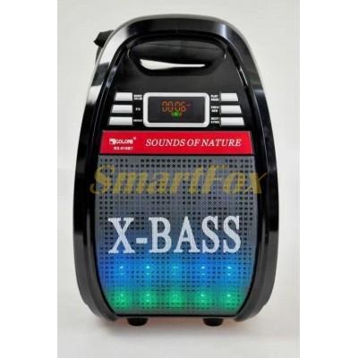 Бумбокс Bluetooth GOLON RX-810BT с микрофоном (38х24х21 см)