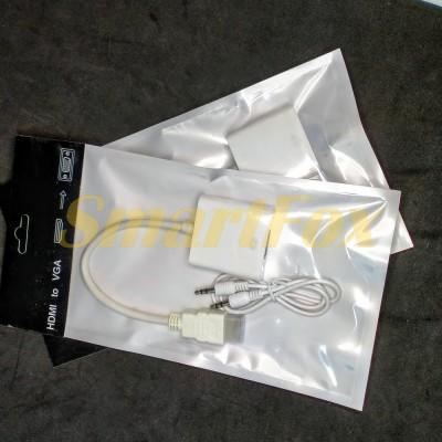 Конвертер HDMI/VGA + кабель AUX 3,5 мм/3,5 мм
