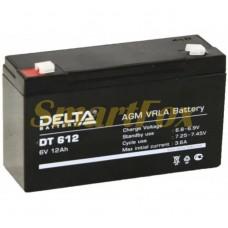 Аккумулятор 6V 12A