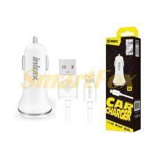 АЗУ USB + кабель USB/Lightning Inkax CD-13-IP-i5