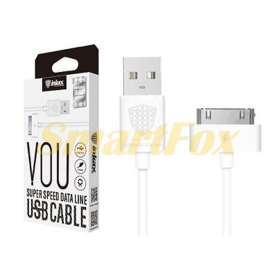 Кабель USB/IPHONE 4 Inkax CK-13-IP4-i4