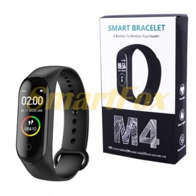 Часы фитнес браслет M4  (копия Xiaomi Mi Band 4)