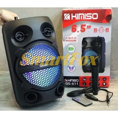 Портативная колонка Bluetooth в виде чемодана Kimiso QS-611