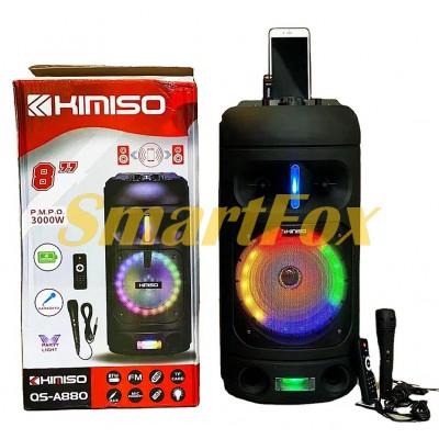 Портативная колонка Bluetooth в виде чемодана Kimiso QS-A880