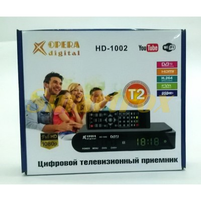 Приставка тв Т2 Opera HD-1002